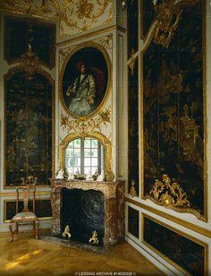 Falkenlust Castle interior , Bruehl, Germany
