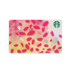 スターバックス コーヒー ジャパンのスターバックス カード さくら ブリリアントについてご紹介します。