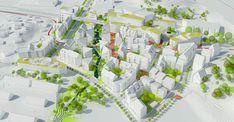 Utopia Arkitekter Proposes a Green Growth-Ring in Gothenburg,Courtesy of Utopia Arkitekter