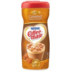 Nestle Coffee-Mate Cafe Collection Caramel Macchiato Powder Coffee Creamer, 15 oz: Dairy, Eggs & Cheese