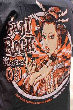 Erostika T Shirt Fuji Rock 2009