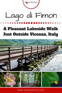 Lago di Fimon: A Pleasant Lakeside Walk Just Outside Vicenza Vicenza Italy, All About Italy, Best Travel Guides, Northern Italy, Where To Go, Amazing Art, The Outsiders, Walking, Tours