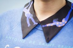 Cleo Ferin Mercury, Trapeze Collar, Circus, Detachable collar