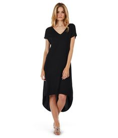 """Rylie Rayon98% Rayon / 2% SpandexCf Length: XS: 39"""" S: 39 1/4"""" M: 39 1/2"""" L: 40""""Hand Wash Cold  Inside Out. Lay Flat To Dry.Made in USA"""