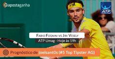Mais um #prognóstico de #ténis para o #ATP Croatia Open #Umag #apostas #tenis #tennis #fabiofognini vs #jirivesely