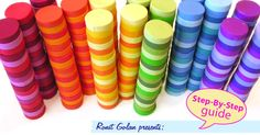 When making rainbow themed canes there are a lot of preparations and work, but the outcome is always bright, happy and surprisin...