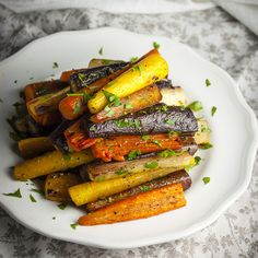 The Best Roasted Carrots. Tried and true; good with fresh sage.