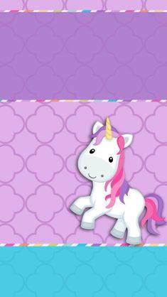 iPhone X Wallpaper 402579654185631574 - Funny Pin Unicornios Wallpaper, Pattern Wallpaper, Unicorn Themed Birthday, Unicorn Party, Cute Lockscreens, Printable Shapes, Birthday Girl Quotes, Unicorn Illustration, Unicorn Pictures