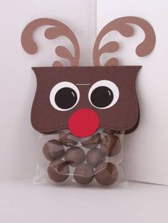 by - Cards and Paper Crafts at Splitcoaststampers Christmas Fair Ideas, Christmas Projects, All Things Christmas, Christmas Holidays, Christmas Foods, Kid Projects, Christmas Ideas, Reindeer Poop, Reindeer Craft