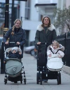 Princess Madeleine and her children in London.. Nov 12, 2016
