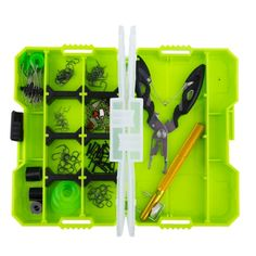 [USD14.69] [EUR13.42] [GBP10.61] JAKEMY JM-PJ5002 10 in 1 Fishing Accessories Box Set Tied Hook Devices Multifunctional Fishing Pliers Tool Set