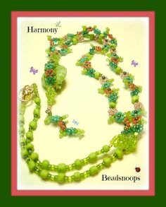 Harmonybeaded necklace by beadsnoops on Etsy, $20.00