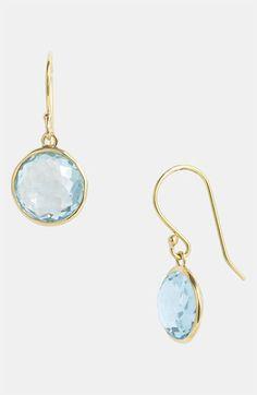 Ippolita 'Rock Candy - Mini Lollipop' 18k Gold Drop Earrings