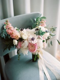 Pink and Green Miami Wedding - MODwedding