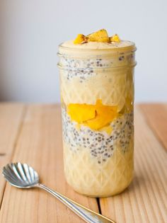 Mango Lass overnight oats - several overnight oat recipes!