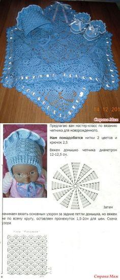 Комплект для новорождённого. - Вязание для детей - Страна Мам