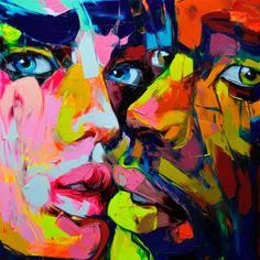 Wonderful!! Untitled 677 By Françoise Nielly