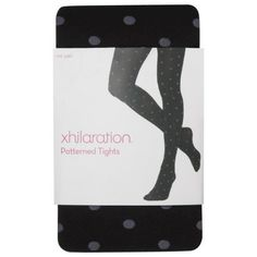 Xhilaration® Juniors Fashion Layering Tights - Assorted Colors/Patterns $6.80 Target