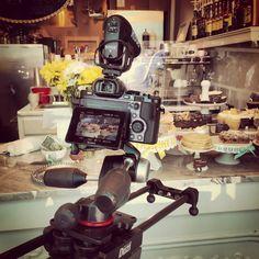 Shoot day at Spoon Baking Company