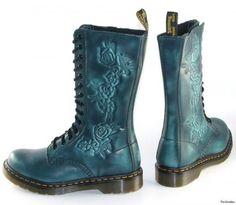 NEW Dr. Martens NORAH 14i ROSE Floral Boots UK 3 US 5