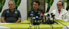 Neto é informado da morte de colegas da Chape, 13 dias após acidente #sportv