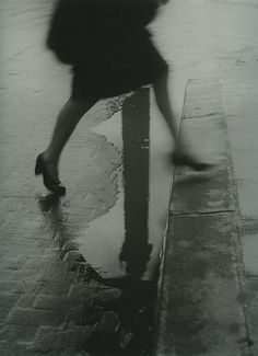 Willy Ronis - Place Vendôme sous la pluie, Paris, 1947