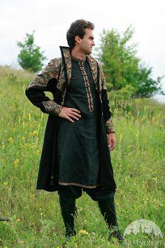 15% DISCOUNT Exclusive Fantasy Medieval Coat Elven by armstreet