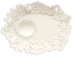 Lace Tray and Bowl by Magenta