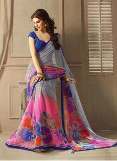 Miraculous Georgette Casual Saree