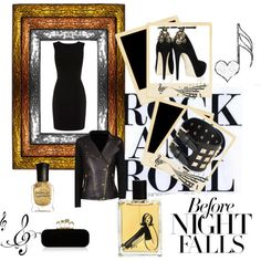 """""""Let's Rock and Roll... all night long"""" by thunderdaught on Polyvore"""
