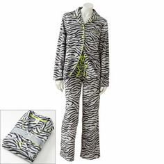 SONOMA life and style Notch Collar Fleece Pajama Set $19.99
