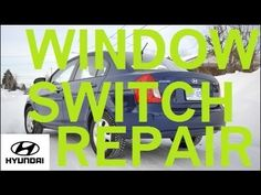 2008 Hyundai Accent Passenger Window Switch Repair Replacement