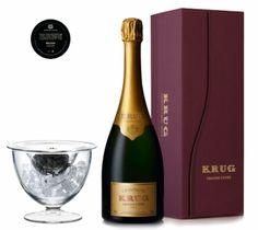 Krug Grande Cuveé Champagne & Caviar Gift