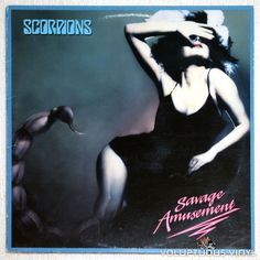 Scorpions ‎– Savage Amusement (10th studio album from the #hardrock band) #vinyl