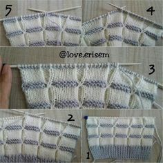"Knit [ ""Beğendiği m model ler"" ] # # #Knitting #Stitches, # #Crochet #Top, # #Georgia, # #Messages, # #Points, # #Of #Agujas, # #Tissue, # #Ladies"
