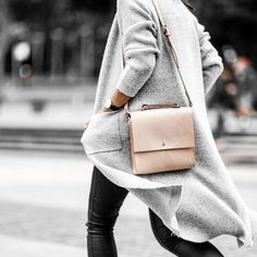 """""""Form, function, and natural leather that gets better looking with age - it's no wonder my @gracegordonldn 'Lucy' bag had me stopped in the street all day…"""""""