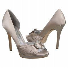 Women's Ivanka Trump Dimund2 Pale Grey Satin Shoes.com