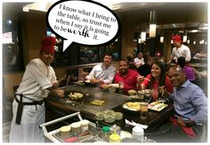 Shore Thing Marketing makes time to have dinner with the client at Benihana's. Everyone enjoyed the night.  It's a great place to have a good time with good company and good food.   'It's not about having time, it's about making time""