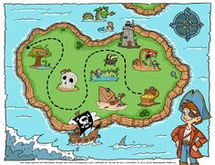 Free pirate treasure map printables for a pirate birthday party, blank treasure maps for treasure hunt clues, and pirate birthday party ideas for boys. Treasure Maps For Kids, Pirate Treasure Maps, Pirate Maps, Pirate Theme, Pirate Party, Treasure Hunt Clues, Pirate Activities, Pirate Birthday, Printables