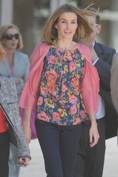 Quién.com : El lookbook de la princesa Letizia