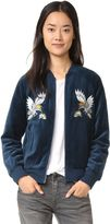 Pam & Gela Embroidered Track Jacket (affiliate)