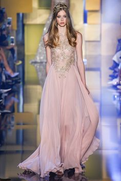 Elie Saab Fall 2015 Couture Fashion Show - Lauren de Graaf (Elite)