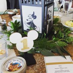 A look at all of the Disney touches we added to make our wedding day even more magical. Everything from invitations and music to centrepieces and more! Disney Wedding Centerpieces, Wedding Table Centerpieces, Wedding Reception Decorations, Wedding Ideas, Fairytale Weddings, Cinderella Wedding, Disney Weddings, Wedding Disney, Themed Weddings