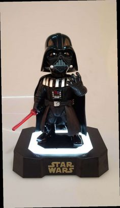 41.85$  Buy here - http://ali98m.worldwells.pw/go.php?t=32596565723 - Star Wars darth vader action figures shiny and voice free shipping PVC toys packed in box