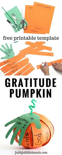30 Thanksgiving Crafts for Kids That are Inspired From Innocence and Dedicated to Gratitude Thanksgiving Gratitude Pumpkin. 30 Thanksgiving Crafts for Kids That are Inspired From Innocence and Dedicated to Gratitude Thanksgiving Gratitude Pumpkin. Thanksgiving Crafts For Kids, Thanksgiving Activities, Autumn Activities, Kids Church Crafts, Craft Kids, Sunday School Crafts For Kids Fall, Thanksgiving Sunday School Lessons, Fall Crafts, Pumpkin Crafts Kids
