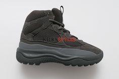 411dc4801372a Yeezy Season 6 Desert Rat Boots Graphite