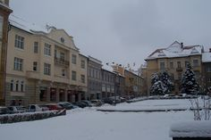 Národná ulica v zime