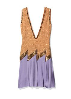 1920s trend, Etro dress. I'm in love with the color combination that I didn't think could go together until I saw this dress. It looks modern even though it has a 20s vibe.