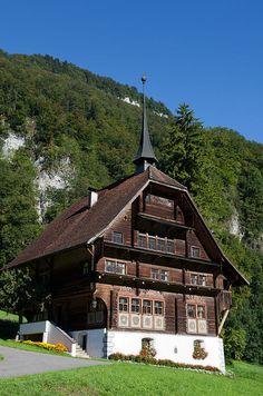 Hechhuis oder Lussyhaus in Wolfenschiessen, Kanton Nidwalden