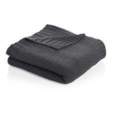 Wilko Knitted Throw Charcoal 127 x Knitted Throws, Home Collections, Soft Furnishings, Herringbone, Blush Pink, Home Accessories, Charcoal, New Homes, Bedroom Inspo